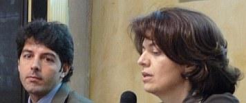 Antonia Consiglio ed Emiliano Pieroni